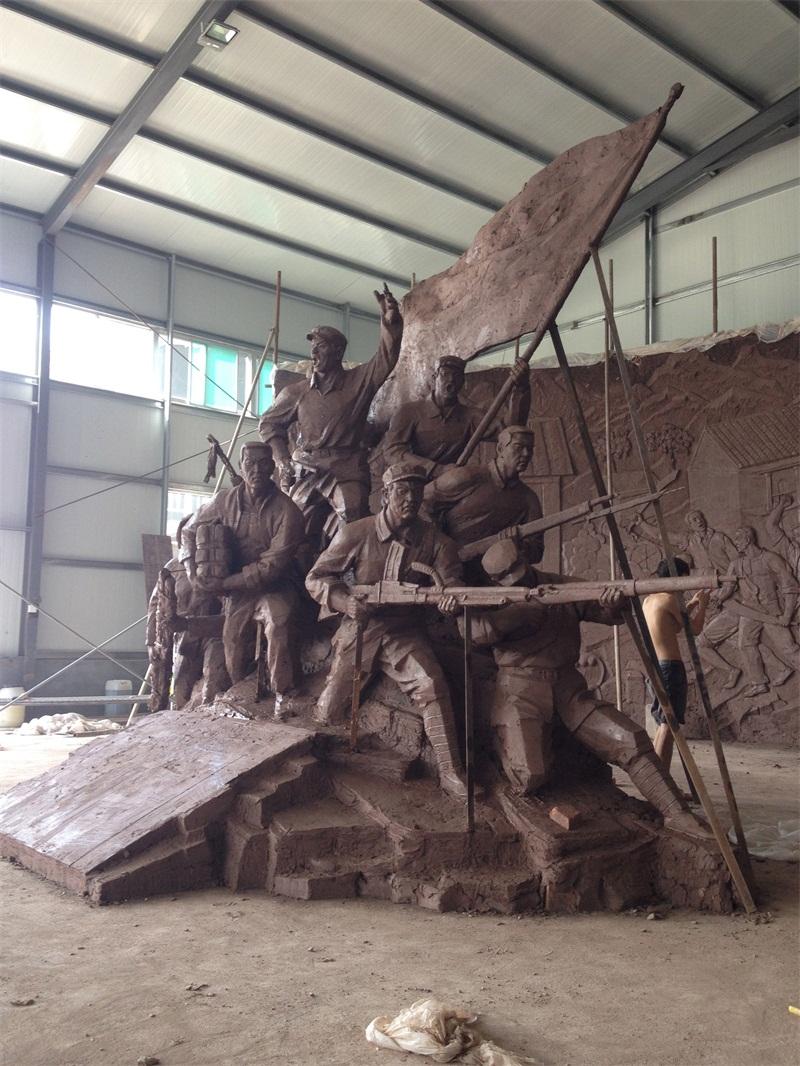 临沂军事博物馆及其他工程制作的工程案例