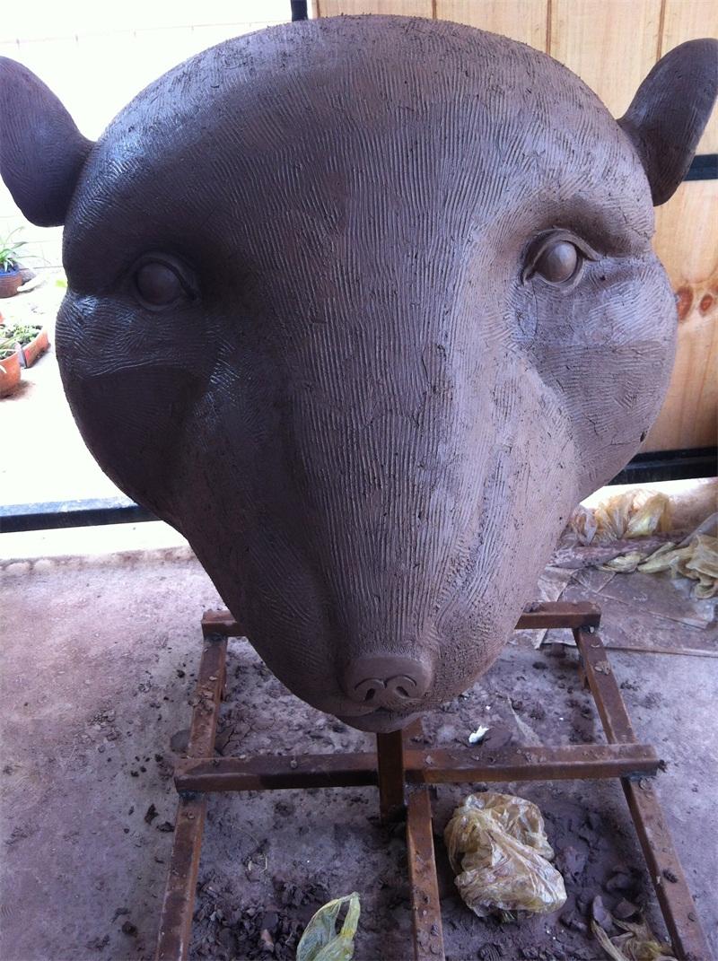鼠头陶瓷品