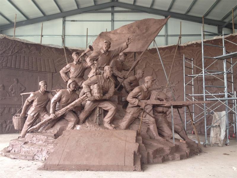 革命标识雕塑