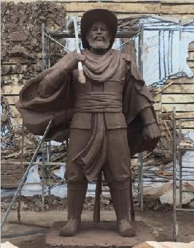 沧州铁狮子景区主题雕塑设计制作