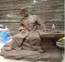 雕塑创作中改变材料性和形式!